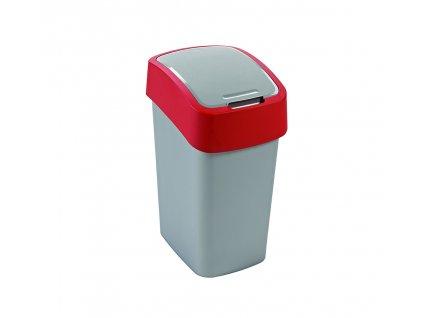 odpadkový koš - červený FLIPBIN 10L