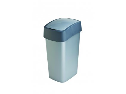 odpadkový koš - šedý FLIPBIN 50L