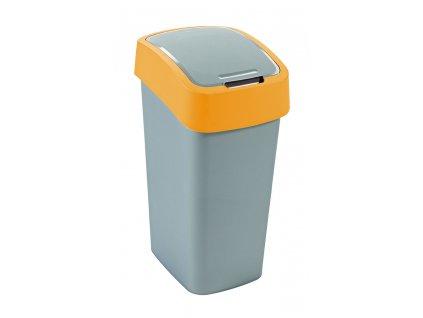 odpadkový koš - žlutý FLIPBIN 50L
