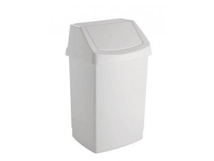 koš odpadkový - bílý CLICK 9L