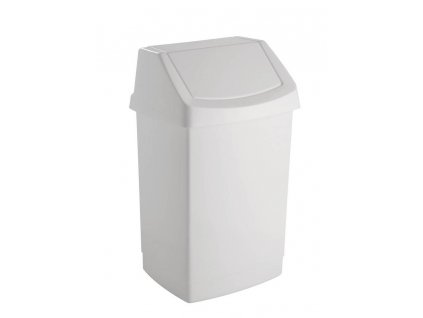 koš odpadkový - bílý CLICK 15L