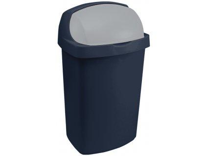 koš na odpadky - modrý ROLL TOP 10L