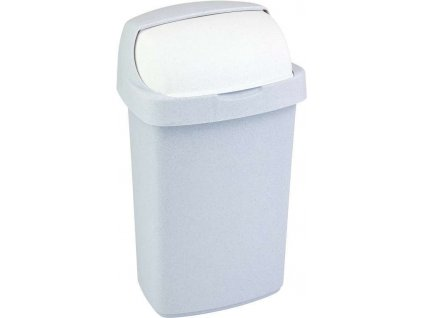 koš na odpadky - sv. šedý ROLL TOP 25L
