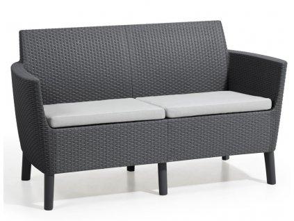hr salemo 2 seater graphite coolgrey2