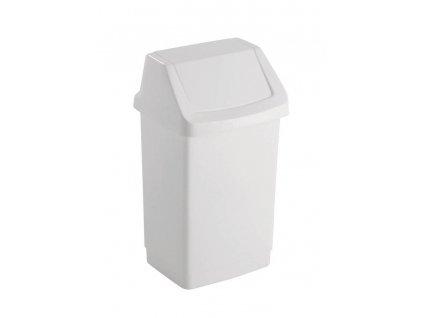 CLICK 25L koš odpadkový - bílý