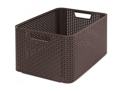 STYLE box - L- hnědý
