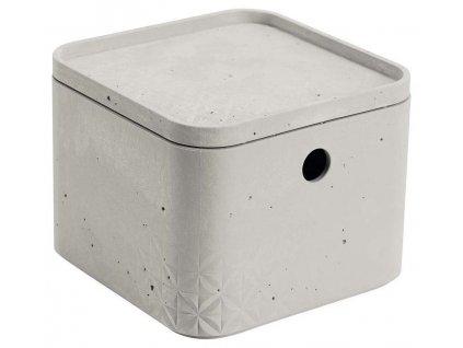 CURVER BETON box s víkem - XS