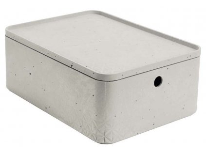 CURVER BETON box s víkem - M