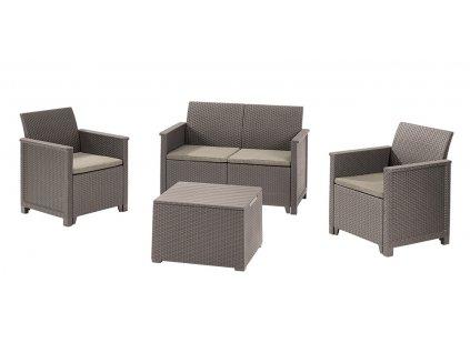 17209481 emma 2 seater sofa set with storage table 8503 rgb