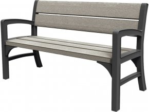 17204596 WOOD LOOK FEEL TRIPLE SEAT BENCH 6685 RGB