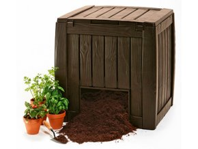 17196661 DECO COMPOSTER WITH BASE 340L 6750 RGB