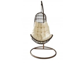 OREGON brown beige cushion