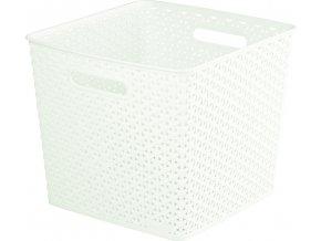 CURVER úložný box MY STYLE SQR box - krémový