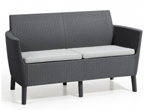 hr salemo 2 seater graphite coolgrey2
