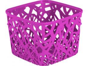 NEO SQUARE košík - fialový