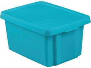 ESSENTIALS box 16L - modrý