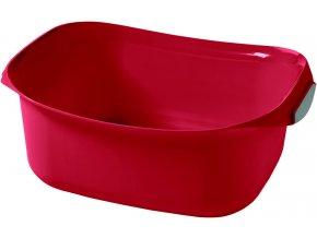 umyvadlo BOWL 8L - červené