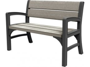 blsets montero double seat bench graphite brownish grey