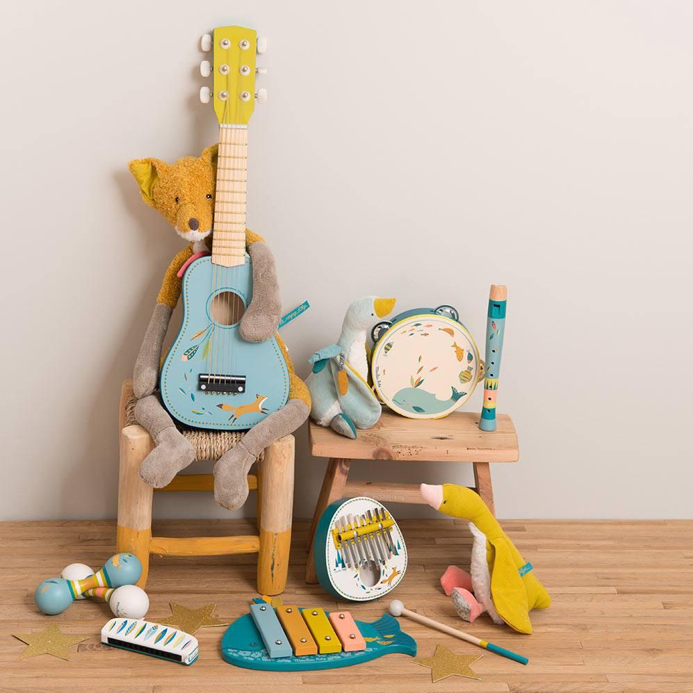 Hudební hračky pro děti
