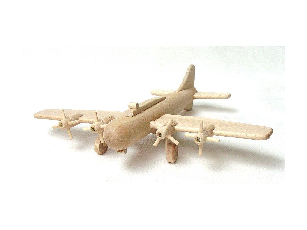 vyr 59Drevene letadlo bombarder B17