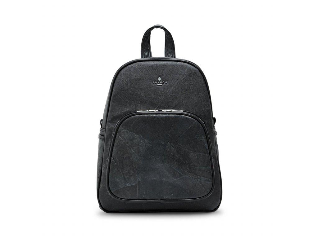 Backpack Black leaf Thamon front 1800x1800