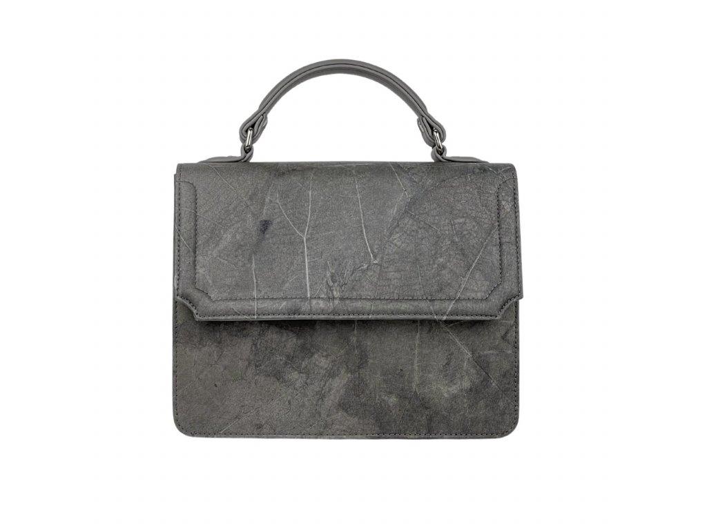 Grey camdenbag crossbody veganleather Thamonlondon front edit 1800x1800