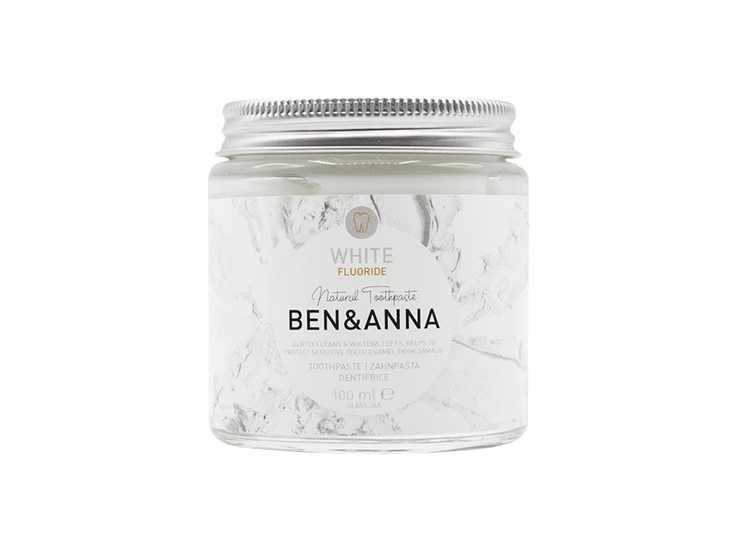 toothpaste jar white fluoride front 1