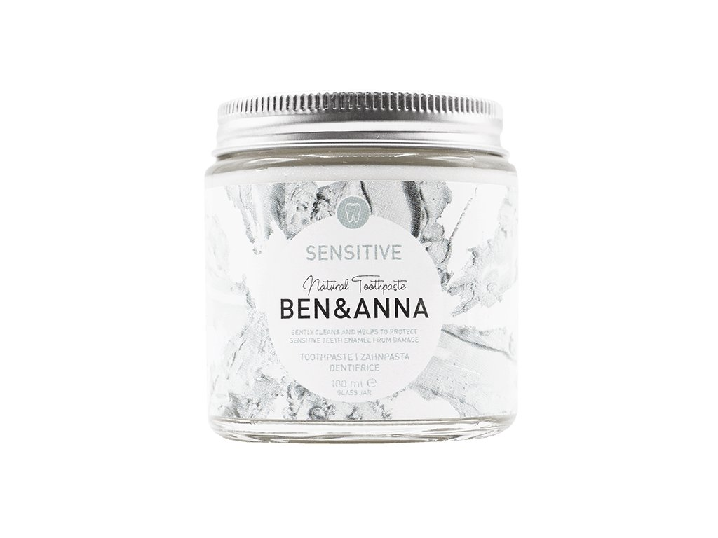 toothpaste jar sensitive front