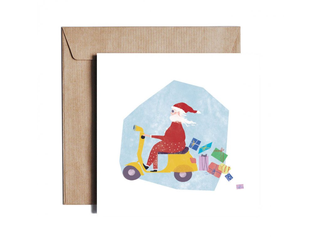 1307 santa on vespa copy
