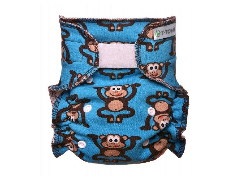 Kalhotková plena přebalovací set suchý zip, monkies x 1000x1000