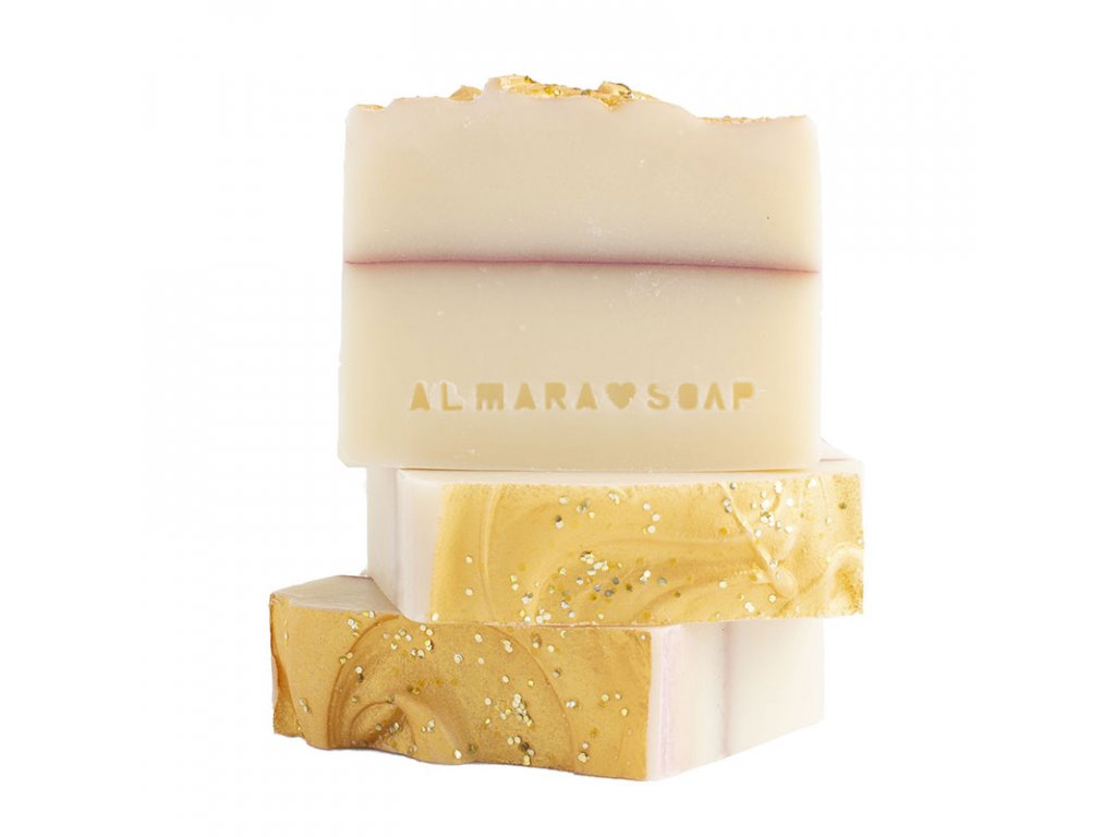 Tuhé mýdlo Sparkling Champagne Almara Soap