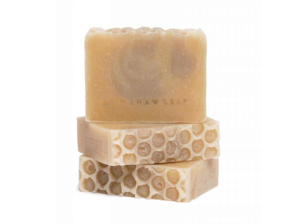 Tuhé mýdlo Medový květ Almara Soap