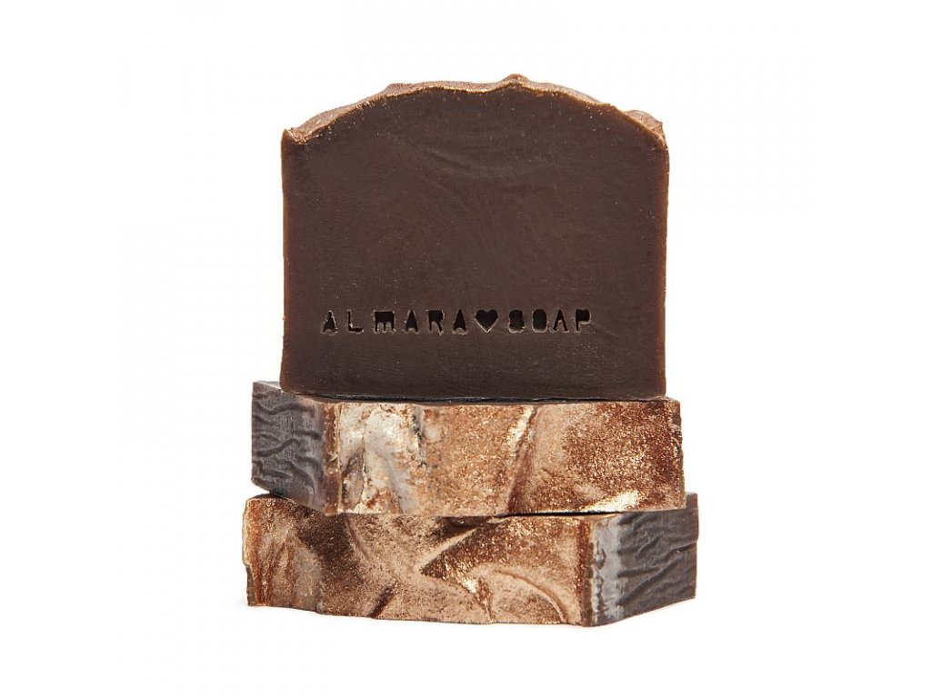 Tuhé mýdlo Gold Chocolate Almara Soap