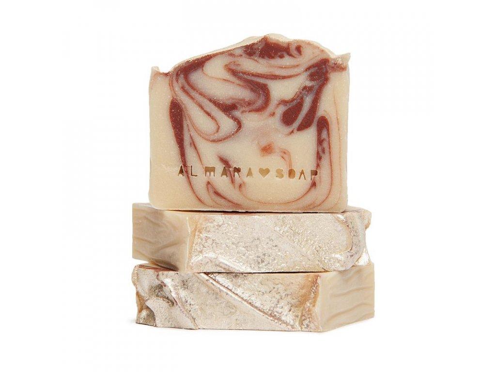 Tuhé mýdlo Ohnivý santal Almara Soap