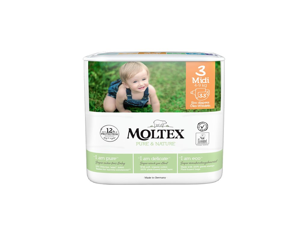 moltex diaper size midi front