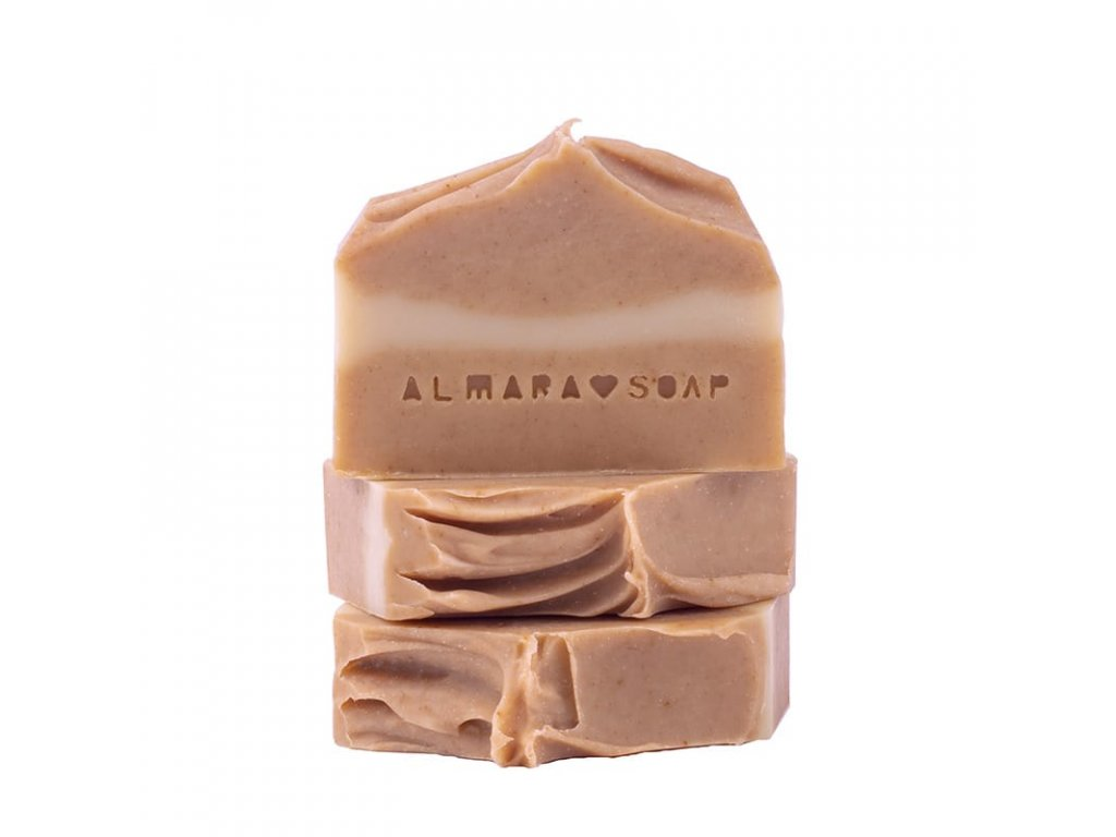 Tuhé mýdlo Curcuma & Honey Almara Soap