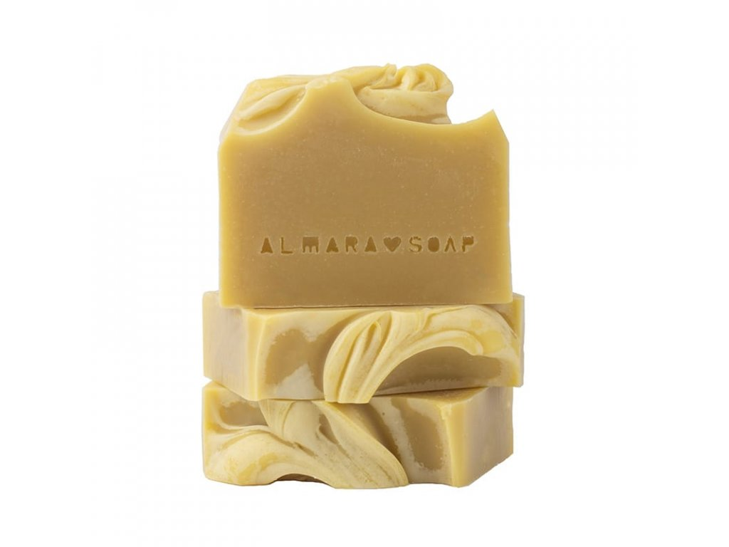 Tuhé mýdlo Creamy Carrot Almara Soap