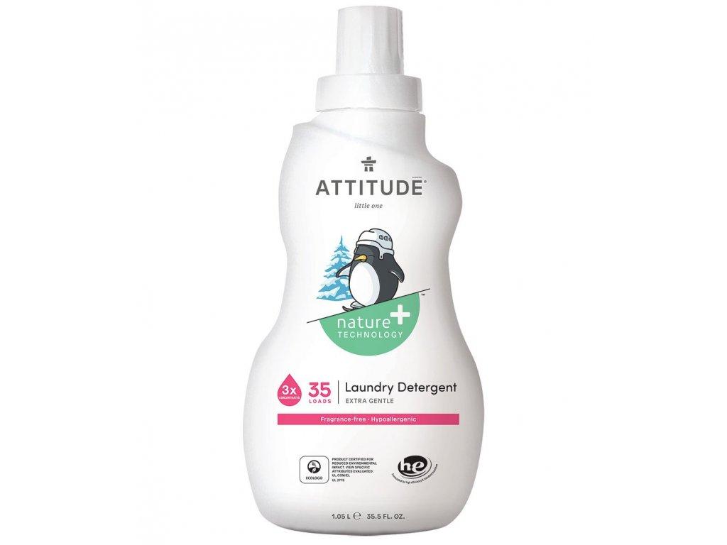 12033 ATTITUDE little ones laundry detergent fragrance free 35 loads 2 1000x1180