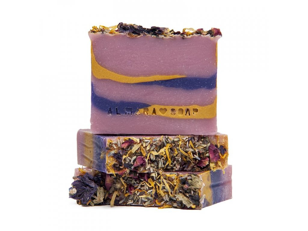 Tuhé mýdlo Letní romance Almara Soap