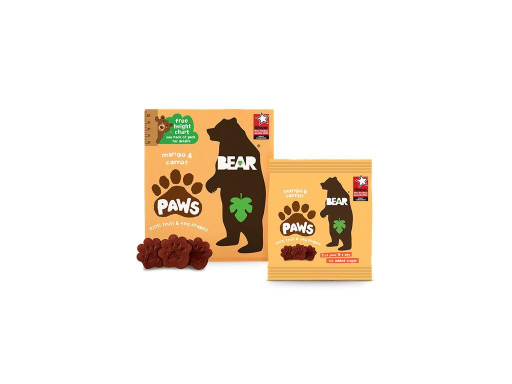 608959e24b7c21b8f17acbbc BEAR Paws Packshot Lockup mango&carrot RGB 2021 p 500