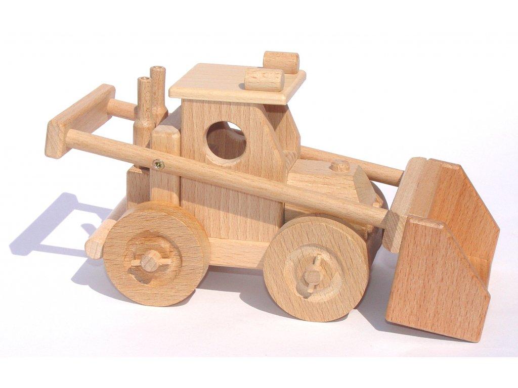 Dřevěná hračka bagr Bobík Ceeda