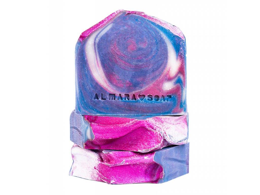 Tuhé mýdlo Hvězdný prach Almara Soap