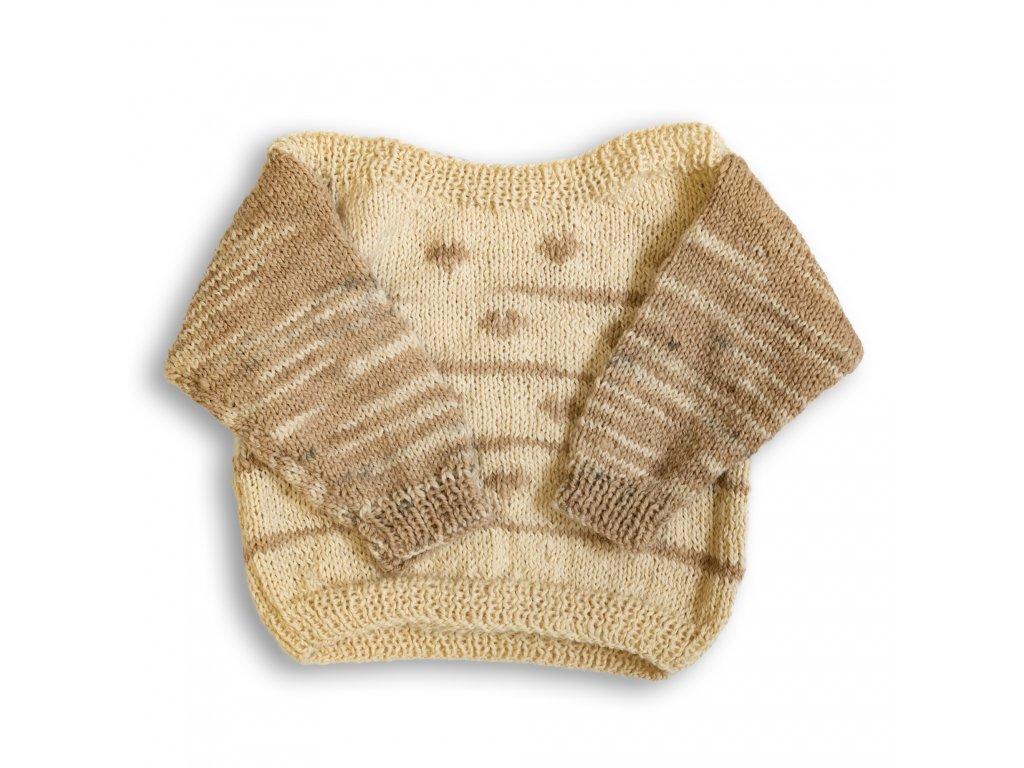 Dětský vlněný svetr přes hlavu Garden Carrier
