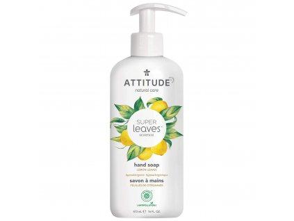 Super leaves hand soap lemon leaves 14092 en FRONT 1800x1800