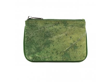 Violet Real Leaf Micro Pouch