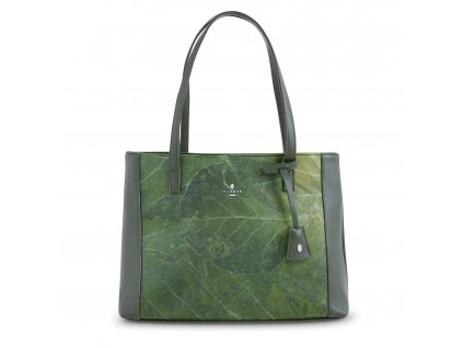 Green Shopping Bag Front