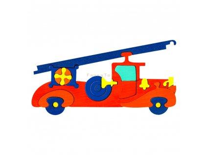 Dřevěné vkládací puzzle hasiči Ceeda