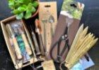 nářadí a vychytávky k pěstování bylinek