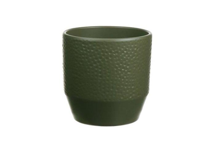 Gardners.cz Keramický obal PIZZA 13 cm zelená
