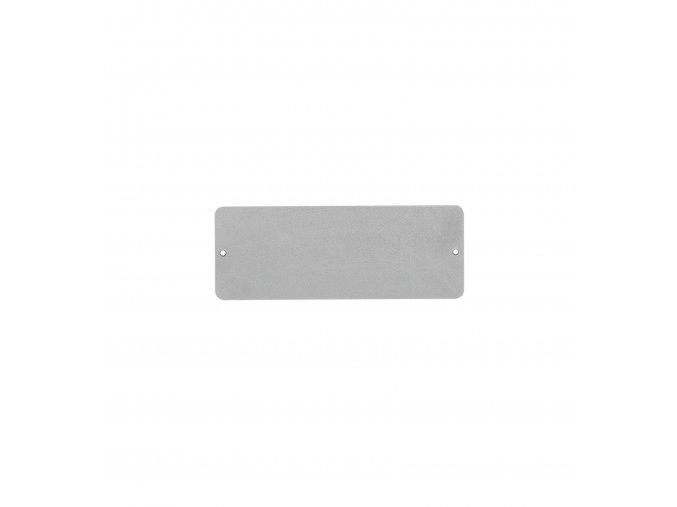 gardners.cz Magnetická tabule 9x24 cm, šedá